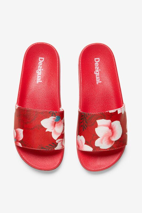 Floral Pool Slides Hindi Dancer | Desigual