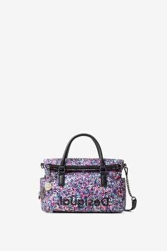 Medium braided bag