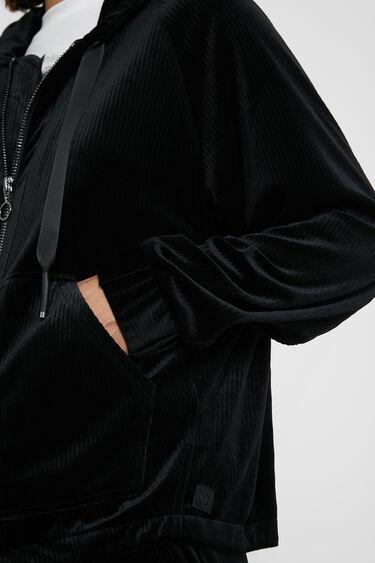 Velvety corduroy jacket | Desigual