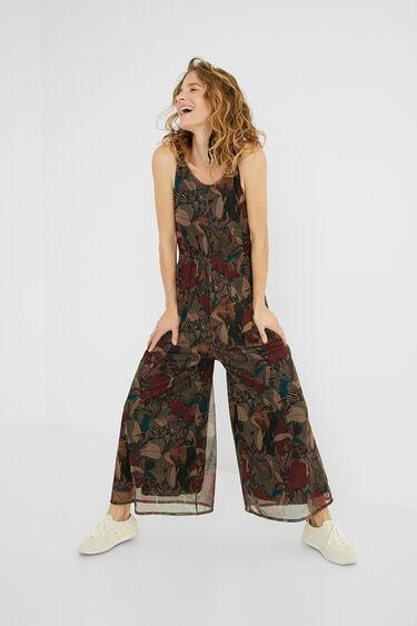 Combinaison pantalon camoflower | Desigual