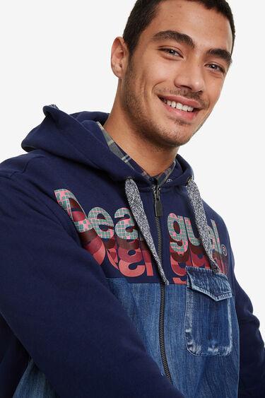 Denim sweatshirt | Desigual