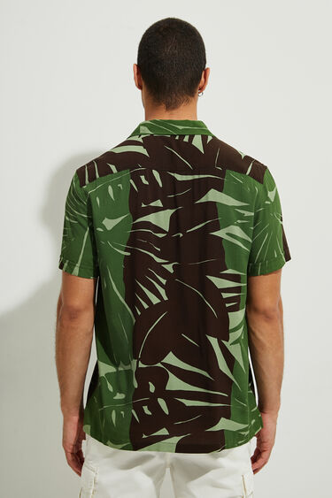 Tropisches Resort-Hemd   Desigual