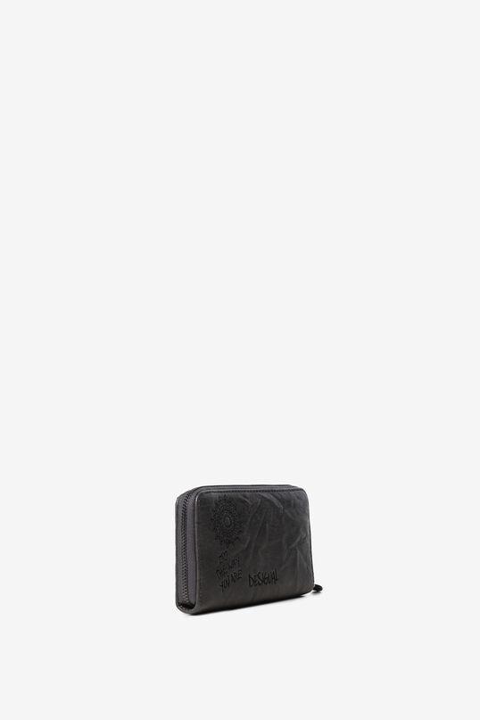 Embroidered rectangular mini-purse   Desigual