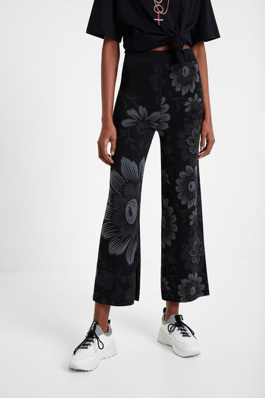 Pantalon large fleuri | Desigual