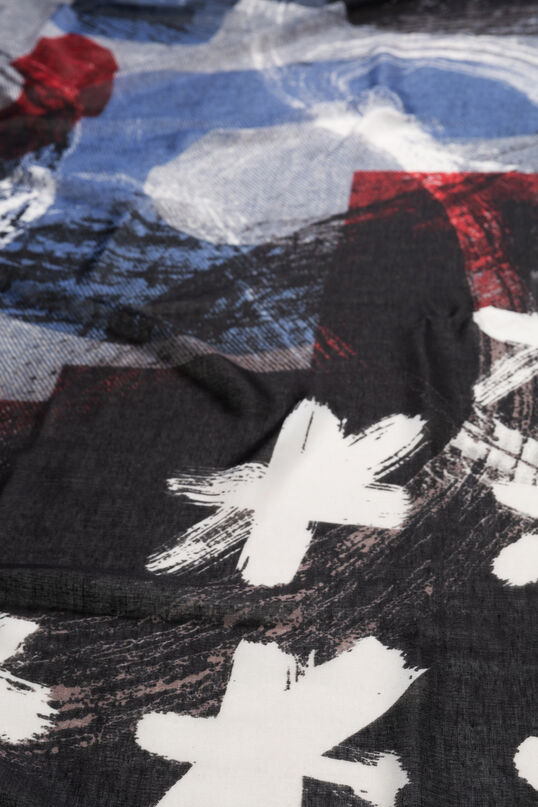 Logomaniac stars foulard | Desigual