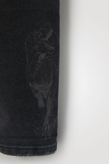 Calças de ganga bordado | Desigual