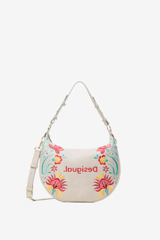 Shoulder bag floral print
