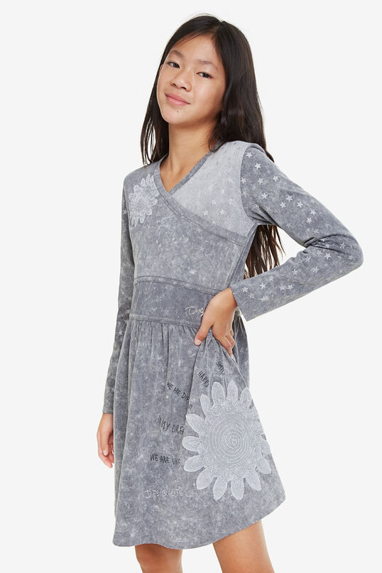 Shiny stars dress | Desigual