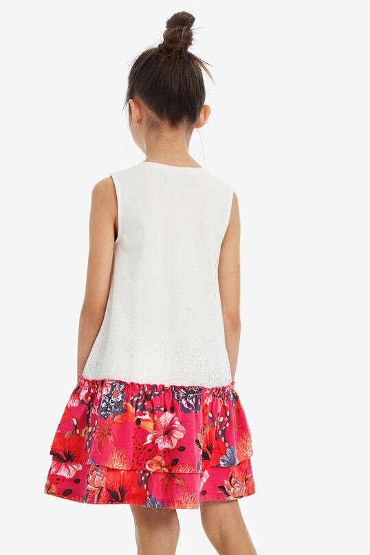 Sleeveless drop-waist dress   Desigual