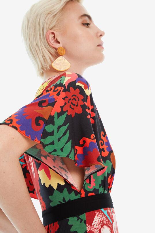 Long Flared Dress Dirección Sur  Designed by M. Christian Lacroix | Desigual