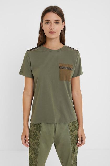 ウェーブメッシュTシャツ