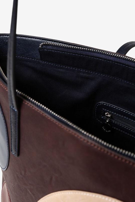 Geometric shopping bag | Desigual