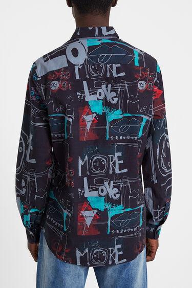 Camisa urbana estilo grafiti | Desigual