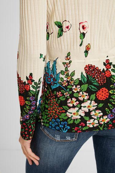 Fine rib knit jumper | Desigual