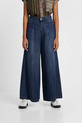 Texans wide leg Tencel™