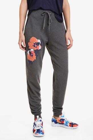 Pantalón chándal Camo Flower