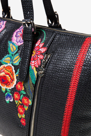 Floral Woven Bag | Desigual
