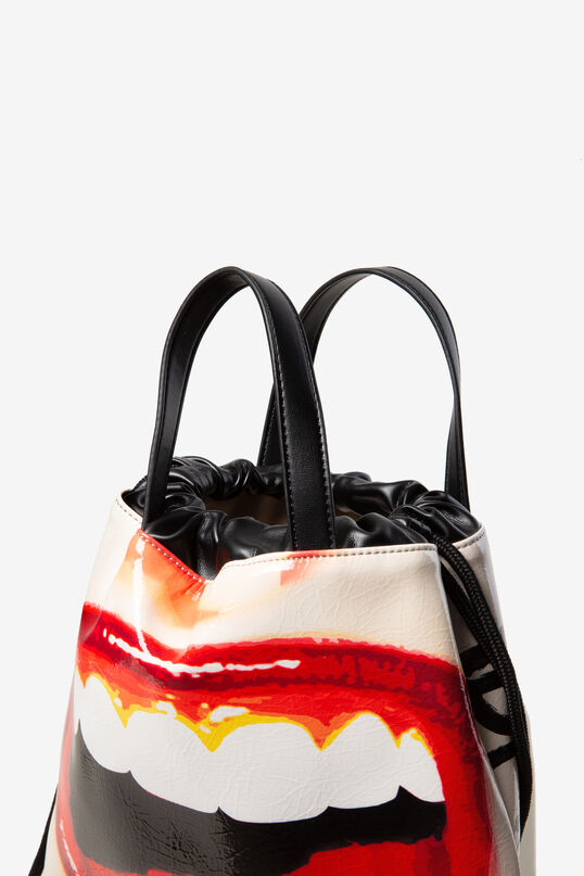 String backpack lips | Desigual