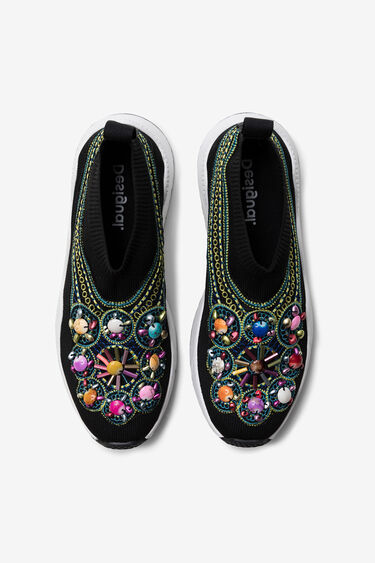 Slip-on inspiration ethnique | Desigual