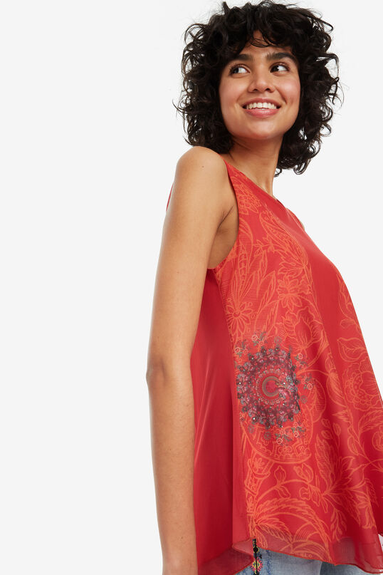Galactic double-layer T-shirt Alma | Desigual