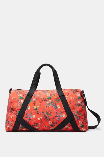 Floral sport bag