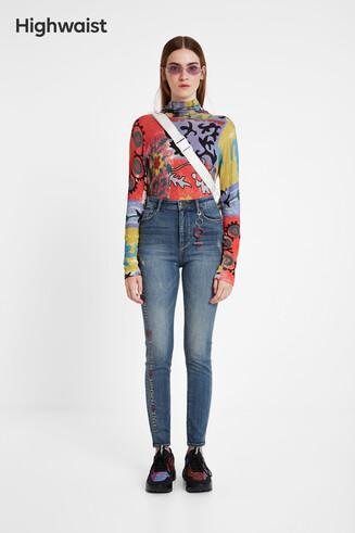 Spodnie jeansowe Desigualité