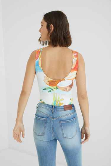 Body slim tropical | Desigual
