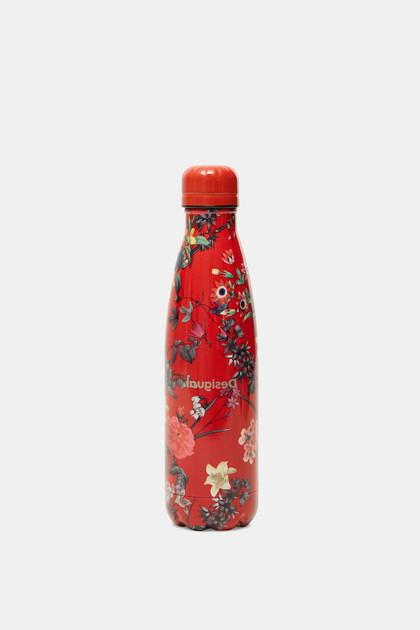Roestvrijstalen drinkfles met bloemen