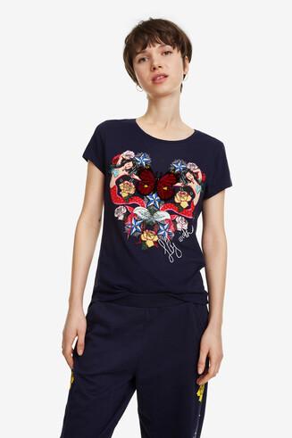 Shirt mit Herz und Seejungfrauen Noa