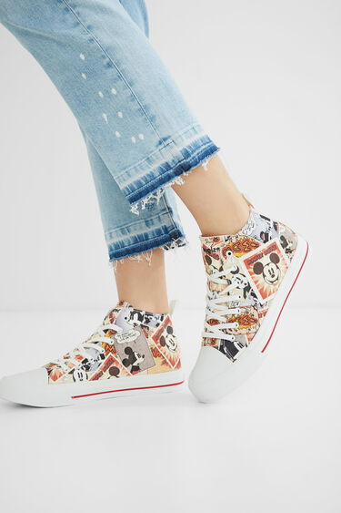 Mickey Mouse high-top sneakers | Desigual