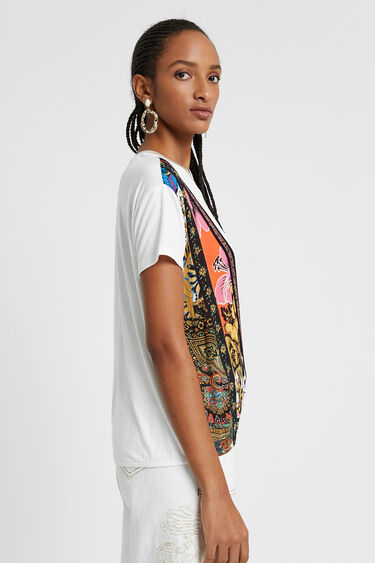 Patch print T-shirt | Desigual