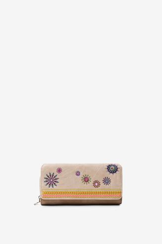 Portemonnaie mit Mandalas und Pailletten