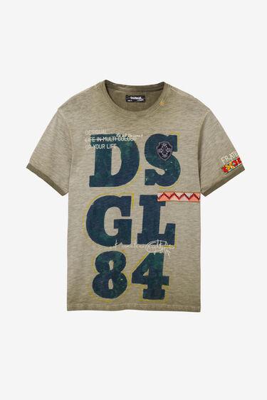 100% cotton DSGL84 T-shirt | Desigual