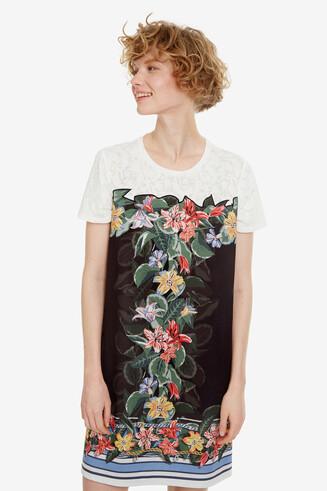 Vestido corto floral Natalie
