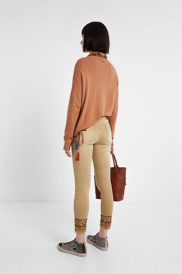 Skinny jean trousers | Desigual