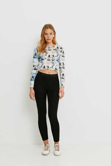 Mickey Mouse crop top | Desigual