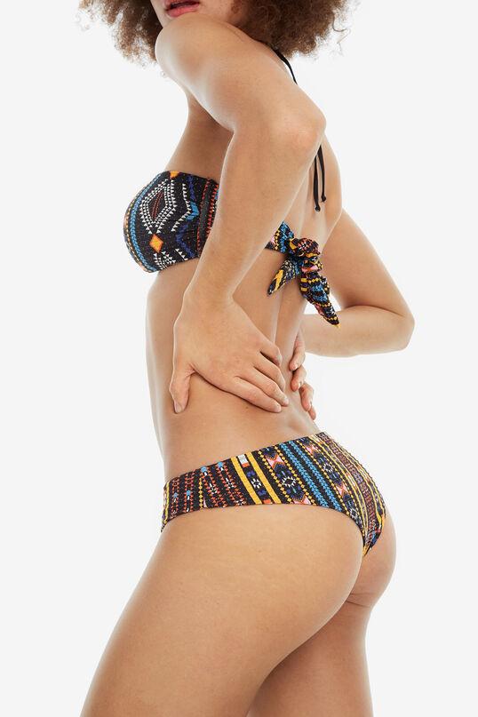 Bas de bikini noir Zoe B | Desigual