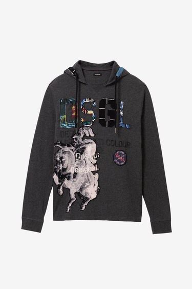 T-shirt with hood | Desigual