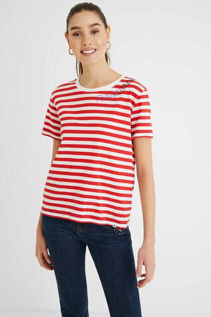 Camisa ratlles marineres 100% cotó
