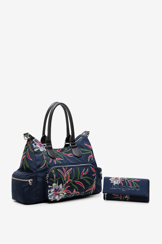 Bag and wallet set