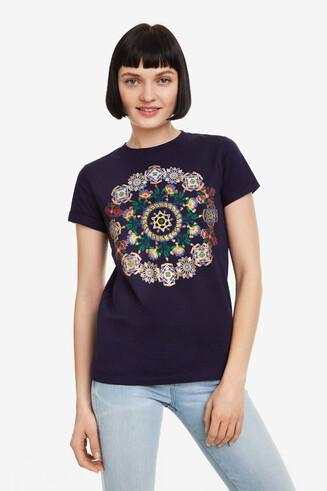 Black Mandala T-shirt Annette