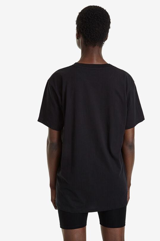 T-shirt 100% katoen nieuw logo | Desigual