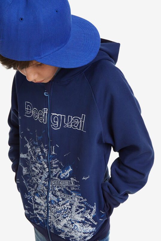 Hooded Sweat shirt | Desigual