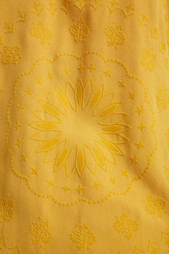 Oversize self-colour print shirt   Desigual