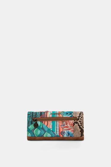 Long coin purse friezes | Desigual