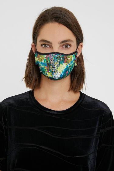 Masque effet aquarelle+housse | Desigual
