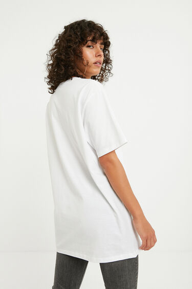 Oversize 100% cotton T-shirt | Desigual