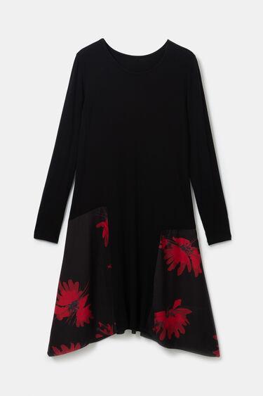 Vestit floral puntes | Desigual