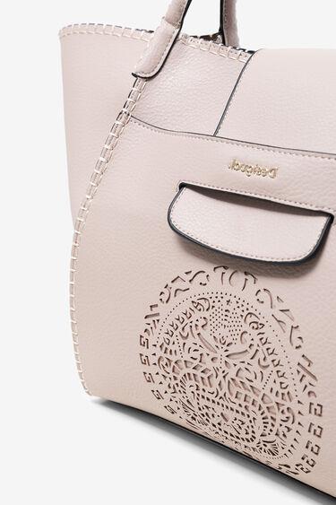 曼荼羅模様トライバルパンチング加工 バッグ | Desigual