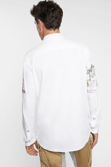 Camisa paisaje 100% algodón | Desigual